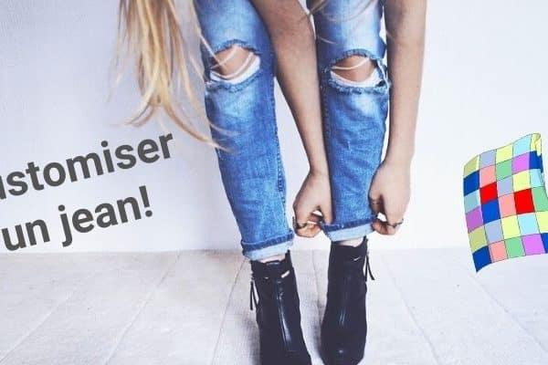 Comment customiser un jean avec de la Javel ?