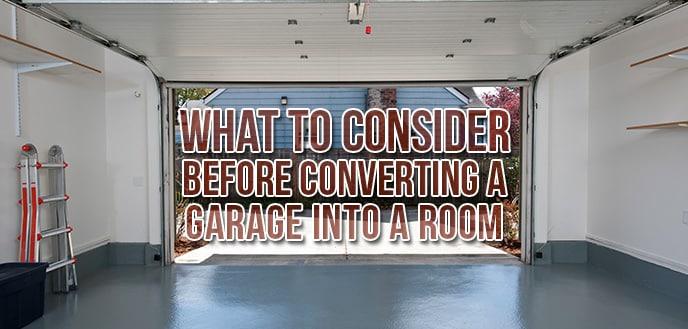 Transformer un garage en salon